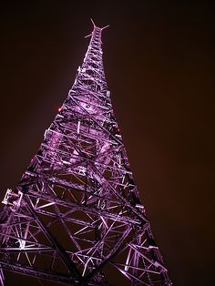 Like the tower Frank climbed in THE BLUE CHEER title. It's a long way to the top.