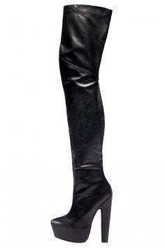 Jeffrey Campbell Shoes ZAHARA Platforms in Black