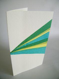 tissue paper cards tutorial