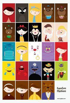 Personajes de cuento
