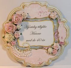 Olivias loveletters...sweet circular shaped card