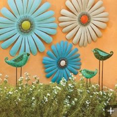 Outdoor Metal Flower Wall Art Fascinating Dragonfly Gathering Indoor Outdoor Wall Art  Outdoor Wall Art Review