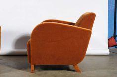 Danish Art Deco Easy Chairs - Pair image 3