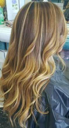 High and lowlites  on my client today. Hair by Evy Torrance, Ca 424 215-8362