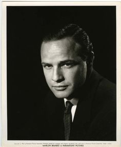 Marlon Brando Photographed by Bud Fraker in 1956.