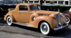 1938 Packard 1604 Coupe with rumble seat