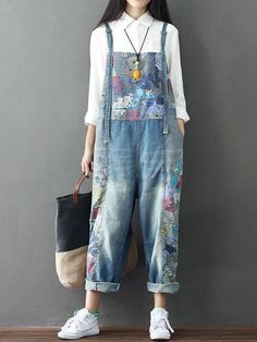 c3eadf1454a Stonewash Overall Dungarees