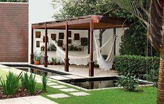Pergola Attached To House Outdoor Areas, Outdoor Rooms, Outdoor Living, Outdoor Structures, Outdoor Decor, Backyard Patio, Backyard Landscaping, Diy Pergola, Gazebo