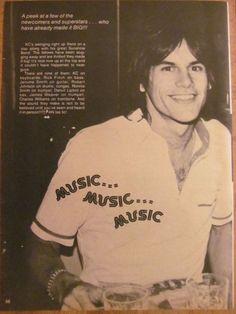 K.C. and the Sunshine Band, Harry Casey, Full Page Vintage Clipping
