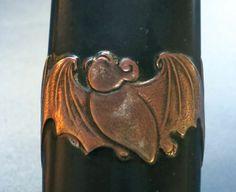 Edo Period Rare Bat Motif Japanese Tanto Knife