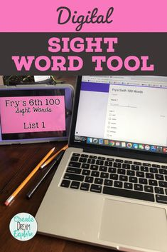 Save time with this self-grading sight word tool. It includes both the Dolch and Fry word lists. Students access the word list on a separate device while you check them off on your device. Reading Resources, Classroom Resources, Creative Teaching, Teaching Ideas, Word Work, Word Study, Sight Words List, Math Task Cards, First Grade Teachers