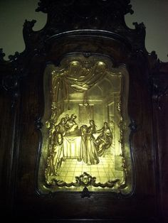 Decapitation of St. John in the cathedral of Maribor