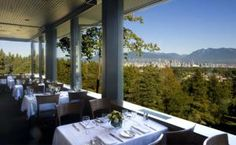 5 Best Vancouver Restaurants with a Great View: Seasons in the Park Restaurant atop Queen Elizabeth Park