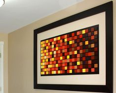 Wood Wall Art Large Acrylic painting on Wood by SJDesignsNewYork