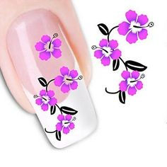 Kaifina Water Transfer Printing Nail Stickers XF1465 *** Want additional info? Click on the image.