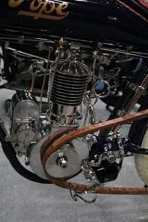 OldMotoDude: 1912 Pope Single sold for $33,000 at the 2017 Mecum Las Vegas Motorcycle Auction