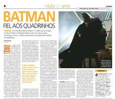 """20/06/2005 - Batman fiel aos quadrinhos. O novo filme """"Batman Begins"""" é o melhor que já chegou às telas."""