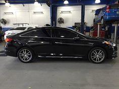 Wesley Chapel Chevrolet >> Modified Hyundai Sonata I45 (6th generation, YF) black with Lexani R-6 22 (22×9) inch luxury ...