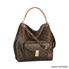 Wise, crafted, cunning: the Louis Vuitton Métis in Monogram canvas delivers on its promises with an attitude. #LV #handbagenvy