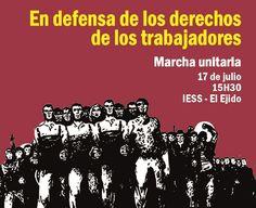 #Ecuador: Marcha Unitaria: EN DEFENSA DE LOS DERECHOS DE LOS TRABAJADORES, 17 Junio.