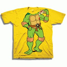 TMNT Michelangelo Pizza Toddler Shirt #TMNT
