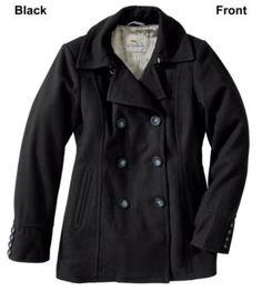Bob Timberlake Wool Pea Coat