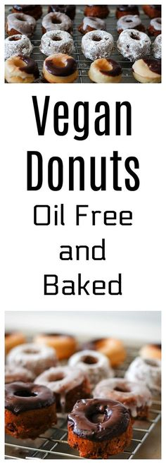 This super quick and easy Vegan DONUT RECIPE is OIL FREE and BAKe, can easily be made gluten free, and absolutely DELICIOUS and healthy compare to the one you buy at the store ! All your family will love it !! Get the Recipe here :http://www.nobletandem.com/vegan-donuts-oil-free-bake/