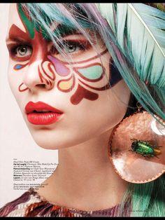 Naomi Nijboer by Feriet Tunc for Vogue Netherlands March 2013