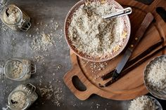 DIY Vanilla Salt and Vanilla Extract from Joy the Baker