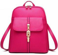 Ladsoul Women Backpacks School Students Backpacks Fashion Leather Backpack Large Capacity Good Quality Travel Backpacks hl8383/g
