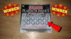 I WON ON PLATINUM PAYOUT NC LOTTERY SCRATCH