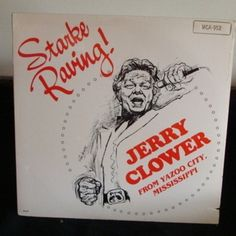 Jerry Clower Lp Starke Raving Mint, Sealed