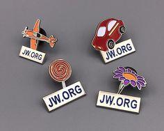 JWstuff.org Tie Clips, Cufflinks, Lapel Pins and Gift Accessories | JW.org Children Lapel Pins
