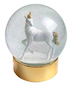 This Unicorn Snow Globe is perfect! #zulilyfinds