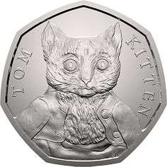 There is no doubt that the 2016 Beatrix Potter caused a collecting storm across the UK with collectors checking their change in an attempt to find a complete set of Beatrix Potter In f… Beatrix Potter, Sherlock Holmes, English Coins, Rare 50p, Coin Buyers, Fifty Pence Coins, Coin Dealers, 50p Coin, Bullion Coins