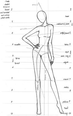 Craft room art croquis – Keep up with the times. Fashion Drawing Tutorial, Fashion Figure Drawing, Fashion Model Drawing, Fashion Drawing Dresses, Fashion Design Sketchbook, Fashion Design Drawings, Fashion Sketches, Dress Sketches, Flat Sketches