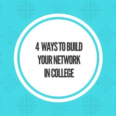 Networking is key to your success in life. It's all about who you know. College is probably the best place to build your network because you are surrounded with people who are in the same pla…