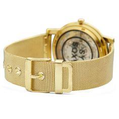 Goudkleurig Clarity Horloge | Gratis verzending | Fort Tempus Clarity, Metal, Accessories, Clock, Bracelet Watch, Watches, Metals, Jewelry Accessories