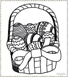 """Easter Egg Designs Coloring Pages from Collection Of Easter Coloring Pages. Easter is a celebration of Christians who commemorate the event of Jesus Christ being revived (or """"resurrected""""). Easter celebrations are popular wit. Easter Coloring Pages Printable, Minion Coloring Pages, Easter Bunny Colouring, Easter Egg Coloring Pages, Christmas Coloring Pages, Easter Printables, Coloring Pages For Kids, Adult Coloring, Free Printables"""