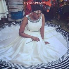 heritage xhosa traditional attire 2019 • stylish f9 African Wedding Attire, African Attire, African Wear, African Women, African Dress, African Clothes, African Traditional Wedding, African Traditional Dresses, Traditional Outfits