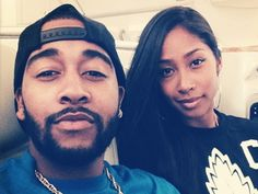 Exclusive column from R&B singer Omarion about new album Sex Playlist, becoming a father, child star past and girlfriend, Apryl Jones. Hollywood Couples, Celebrity Couples, Black Couples, Cute Couples, Black Celebrities, Celebs, Apryl Jones, Afro, Becoming A Father