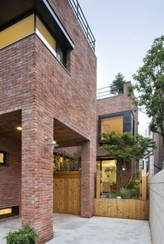 Of inspiration courtyard house, facade house, brick cladding, brick facade Brick Cladding, Brick Facade, Brickwork, Facade House, Brick Houses, Kim House, Courtyard House, Brick Building, Brick And Stone