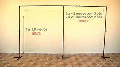 Hiper Suporte Para Painel Banner Balões Aniversario 3 Pés - R$ 204,90 em Mercado Livre