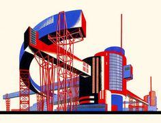 Iakov Chernikov | architectural fantasies