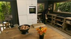 Nigel Slater's Kitchen - you need to watch the show to appreciate how great this kitchen is!