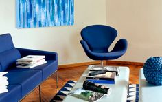 In a Blue Mood - Gilt Home