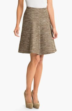 Lafayette 148 New York 'Asha - Radiant Reed Cloth' Skirt available at #Nordstrom
