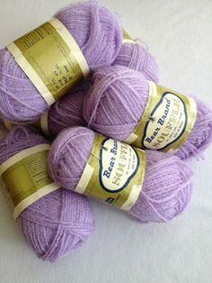 Bear Brand Souffle vintage yarn