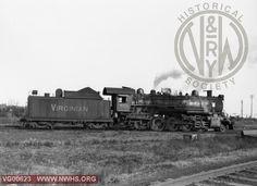 VGN Steam locomotive MB class #459  Norfolk, VA