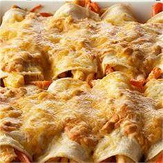 Sour Cream Chicken Enchiladas by McCormick(R) - Allrecipes.com